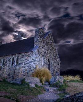 good shepherd church lake tekapo nz